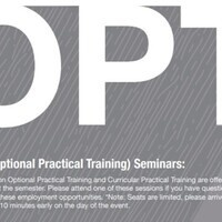 Optional Practical Training Seminar