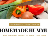 Homemade Hummus w/ GRF Jessica!