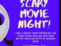 Scary Movie Night!