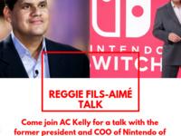 Reggie Fils-Aime Talk (COO of Nintendo)