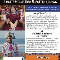Distinguished Lecture Series on Latin American Studies: Angélica Ortiz López and Gabriel Pacheco Salvador