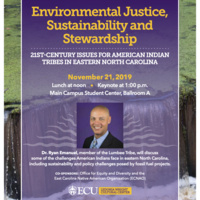 Environmental Justice, Sustainability and Stewardship