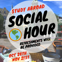 Monthly Study Abroad Social Hour
