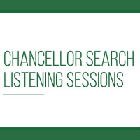 Chancellor Listening Sessions - Faculty and Staff