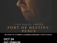 LASP Colombian Path to Peace-Port of Destiny: Peace, Film 6pm, Panel 7pm
