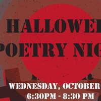 Halloween Poetry Event