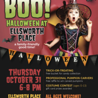 BOO! A Safe Halloween Event at Ellsworth Place