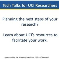 Tech Talk for UCI Researchers