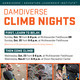DamDiverse Climb Nights