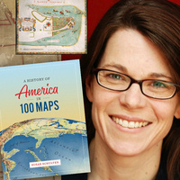 BOOK TALK WITH SUSAN SCHULTEN  A History of America in 100 Maps