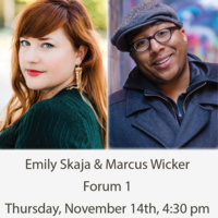 Southern Indiana Reading Series: Emily Skaja and Marcus Wicker
