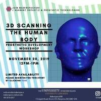 3D Scanning the Human Body - Prosthetic Development Workshop