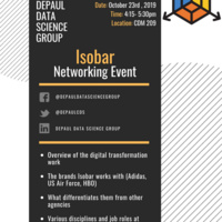 Data Science Networking Event - DDSG (Isobar)