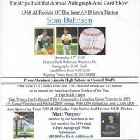 Yankee Pin-Stripe Baseball Card Show