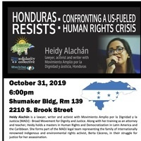 Honduras Resists: Confronting A US-Fueled Human Rights Crisis