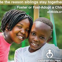 Nov. is National Adoption Month - Celebrate by Becoming a Resource Parent