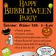 Happy Bubbleween Party