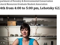 Margret H. Lloyd Speaker Series in Ecology and Natural Resources