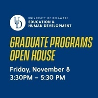 CEHD Graduate Programs Fall Open House