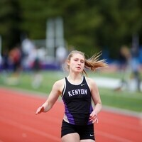 Kenyon player running