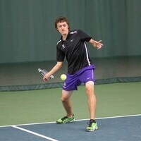 Getting ready for the tennis forehand