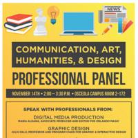 Professional Panel: Communication, Art, Humanities, and Design