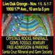 Santa Cruz Gem and Mineral Society Holiday Gift Show