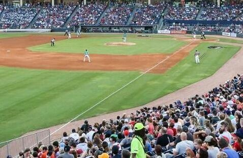 Gwinnett Stripers vs Toledo Mud Hens