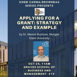 GSBM BrownBag Research Presentation