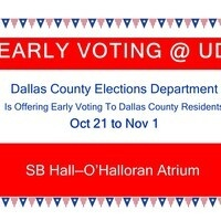 Early Voting for Dallas County