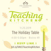 Teaching Kitchen: The Holiday Table