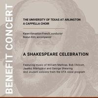 UTA A Cappella Choir Benefit Concert