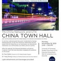 TN-China Network and UTK China Town Hall