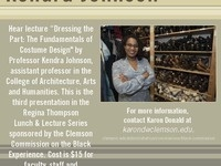 Regina Thompson Lunch and Lecture Featuring Professor Kendra Johnson