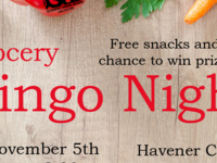 SUB Presents: Bingo Night - Grocery