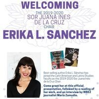A Welcome for Erika L. Sánchez