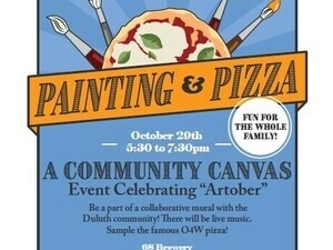 A Community Canvas - Painting & Pizza