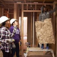 Impact Service Event - Habitat for Humanity Women's Build Day