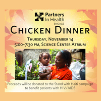 Partners In Health Engage Chicken Dinner