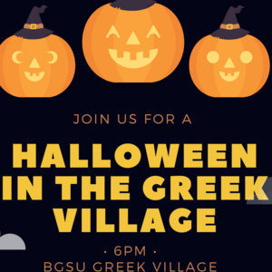 Halloween in the Greek Village