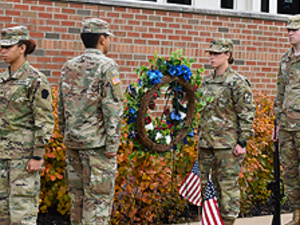 Pitt-Greensburg: Veterans Day Wreath Ceremony