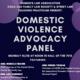 Domestic Violence Advocacy Panel