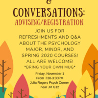 Coffee & Conversations: Advising/Registration