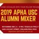2019 APHA USC Alumni Mixer in Philadelphia