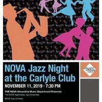 NOVA Jazz Night at the Carlyle Club