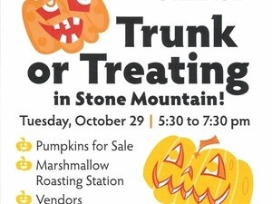 Trunk or Treating in Stone Mountain