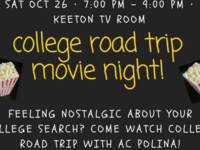 College Road Trip Movie Night