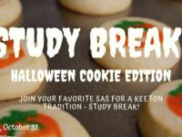 Study Break - Halloween Cookies!