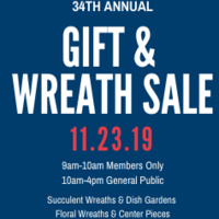 Annual Arboretum Gift & Wreath Sale
