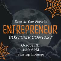 Costume Contest—Dress as Your Favorite Entrepreneur